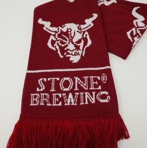 Stone Brewery Brewing (Gargoyle) Dark Red Scraf